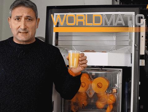 distributore automatico spremuta arancia