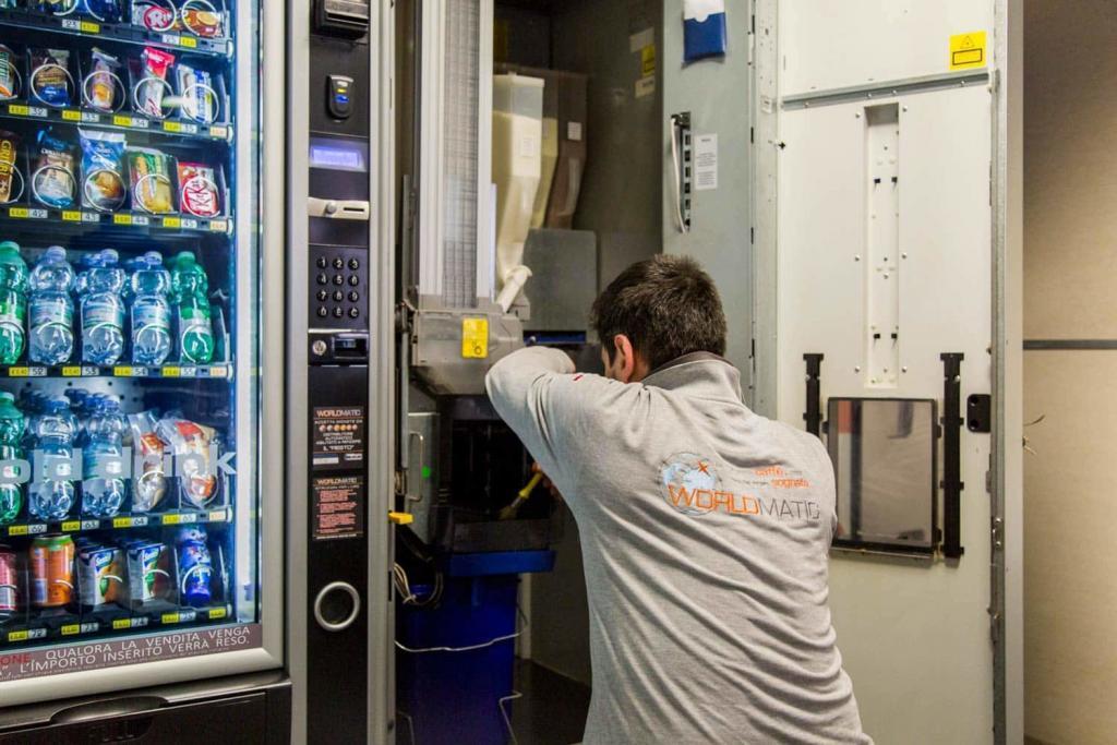 Assistenza tecnica distributori automatici