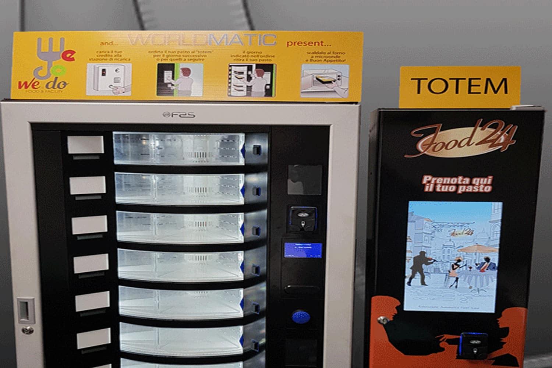 distributori automatici pasti caldi