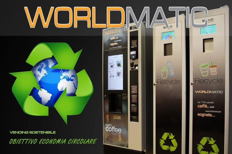 distributore automatico economia circolare Zero Plastic