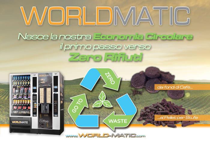Distributori Automatici Caffè Economia Circolare